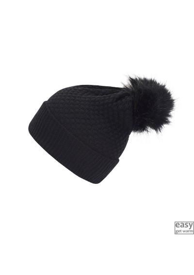 Megzta kepurė su vilna...