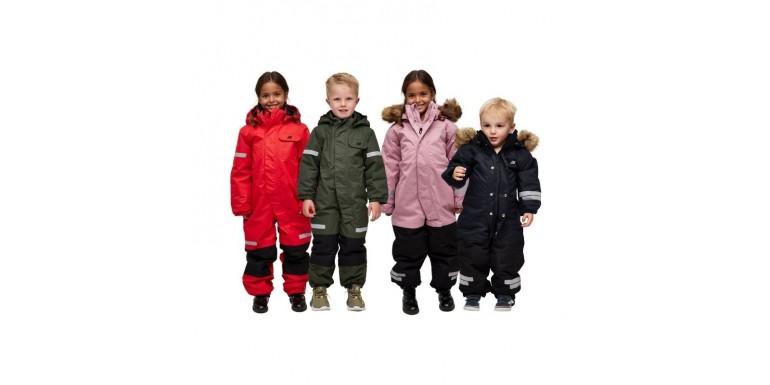 Kaip išrinkti žieminį kombinezoną vaikui?